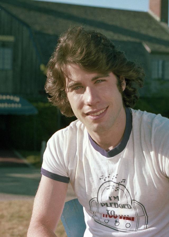 Джон Траволта в 1976 году.