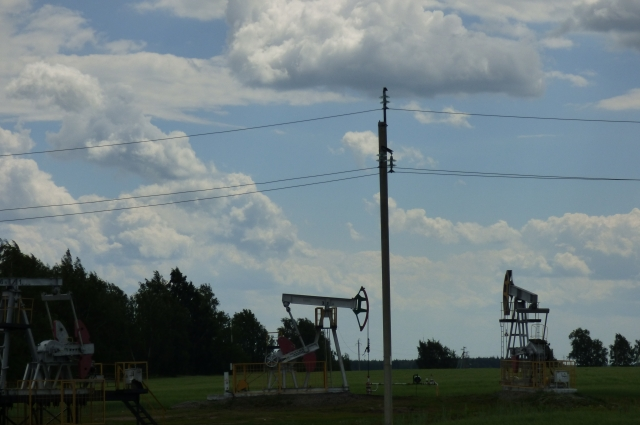 Так качают нефть.