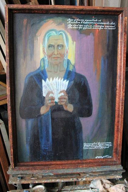 В семье Шутенко мать дождалась с фронта всех 5 сыновей. 99-летний  Родион Степанович один из победителей ВОВ. Он художник, до сих пор рисует.