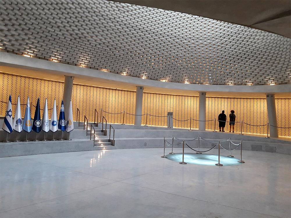 Национальный мемориальный зал погибших израильтян