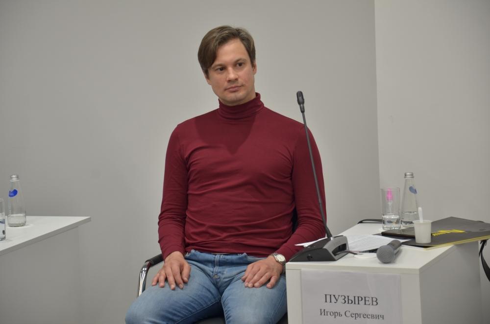 Кандидат химических наук Игорь Пузырёв.