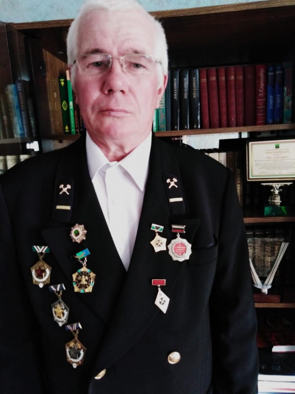 Больше 30 лет отдал родной шахте ветеран.