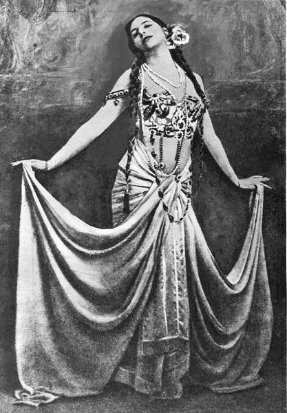 Мата Хари. 1900-е годы