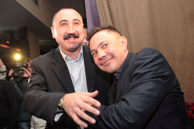 Александр Лебзяк и Константин Цзю