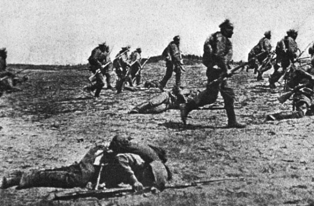 Атака мертвецов первая мировая