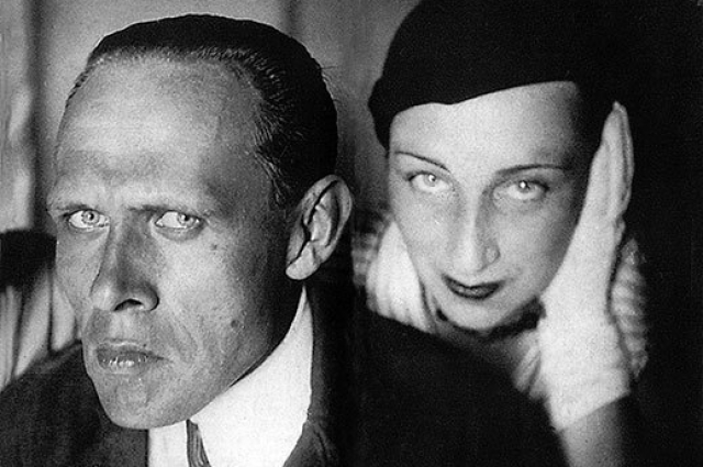 Даниил Хармс и Алиса Порет. Начало 1930-хгг.