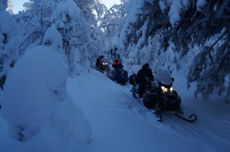 На снегоходах на перевал Дятлова - от 40 до 60 тысяч.
