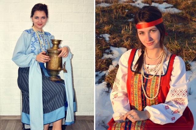 Костюмы из коллекции «Берегите традиции».