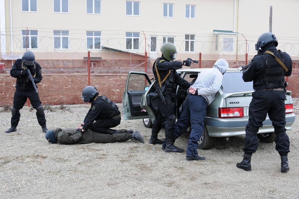 Задержание преступников в Адыгее.