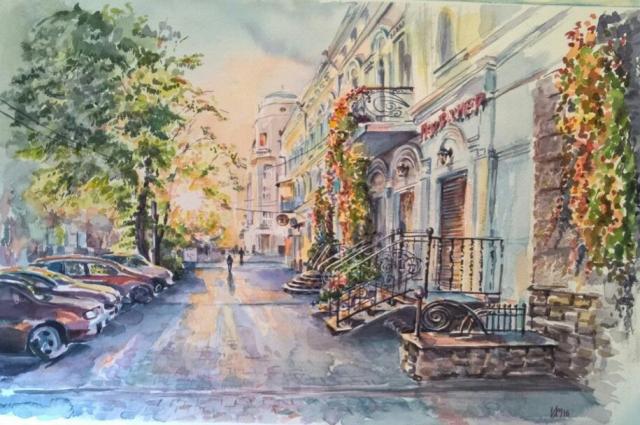 Картины Ирины излучают свет, тепло, спокойствие и тихую грусть. Может быть, это и называется силой искусства?