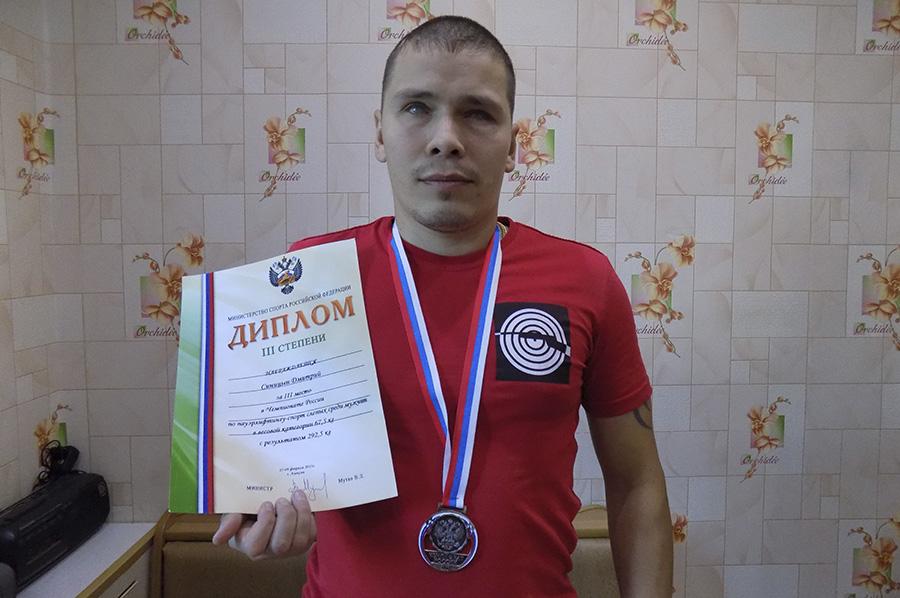 Сегодня молодой человек - обладатель многочисленных медалей и наград.