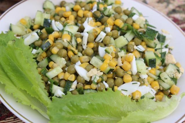 Этот салат прекрасный гарнир