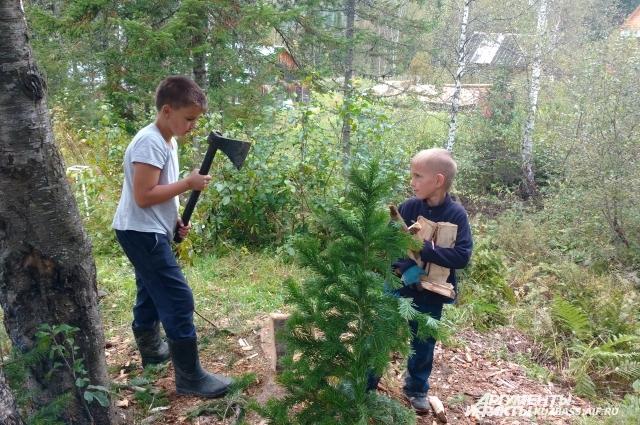 В туристических походах дети обучаются всем премудростям полевой жизни.