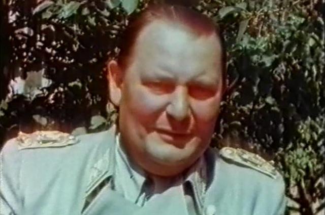 Герман Геринг в 1945 году.