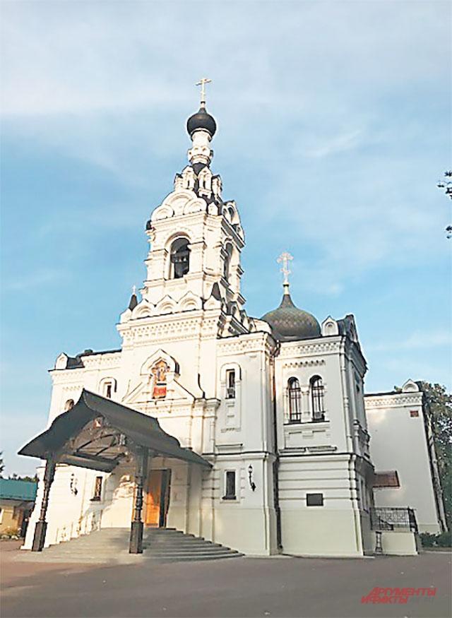 Храм Успения Пресвятой Богородицы в Троице-Лыкове был построен в 1840—1850 гг.