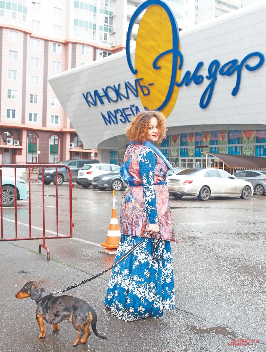 «Наш замечательный кинотеатр «Эльдар» – это и дом, и музей, и место встреч», – говорит Ольга.