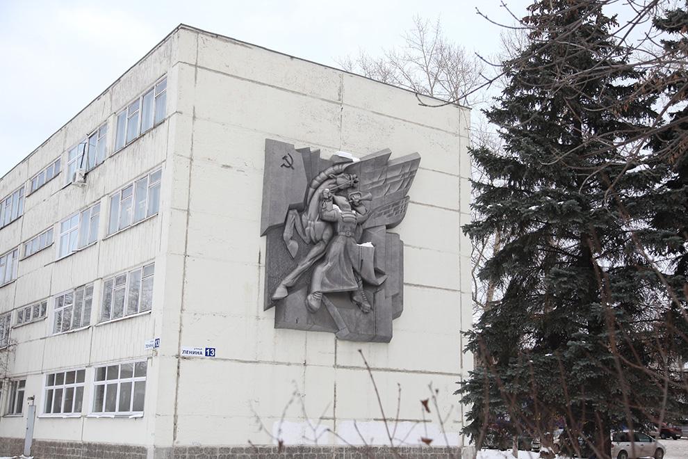 Одна из работ кыштымского скульптора.