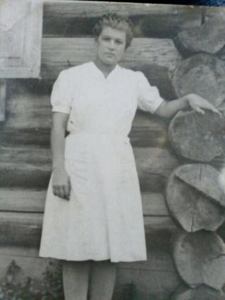 Римма Богачева после войны.