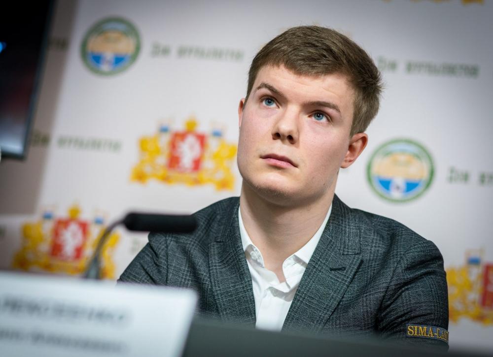 Кирилл Алексеенко, участник турнира претендентов ФИДЕ.