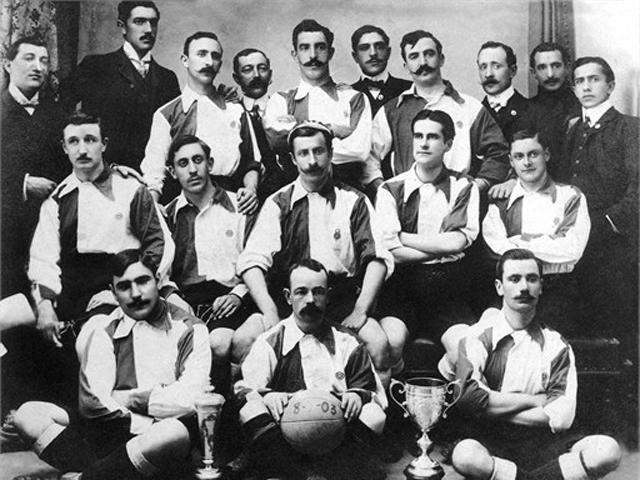 «Атлетик» в 1903 году.