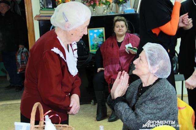 В фотосессии участвовали женщины от 60 и старше.