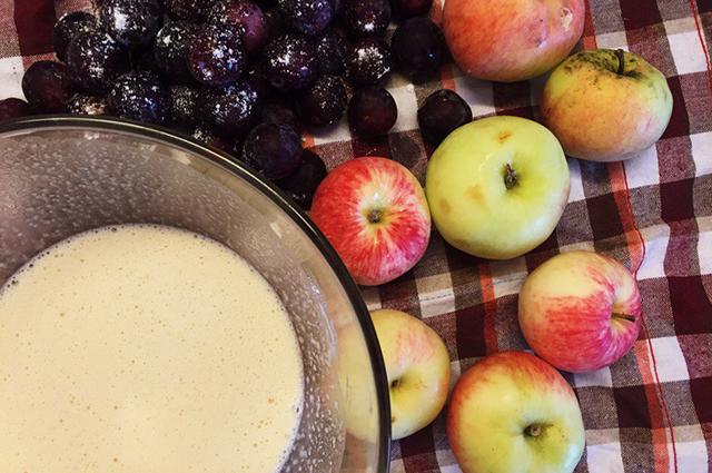 Простой рецепт шарлотки с яблоками в духовке