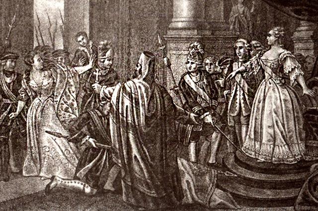 «Восшествие на престол Елизаветы Петровны», Борис Чориков.