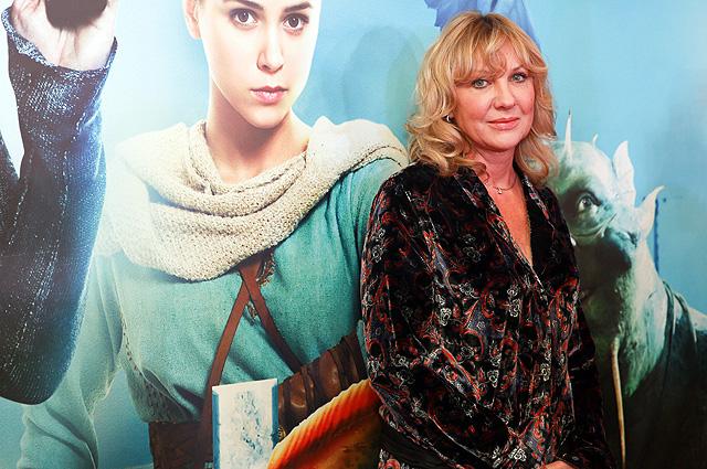 Елена Яковлева на премьере фильма «Последний богатырь».