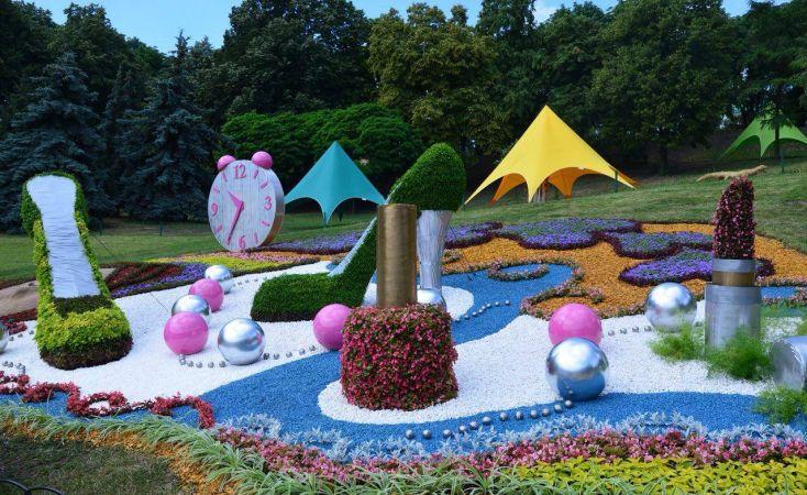 Выставка цветов «Мир гигантов»