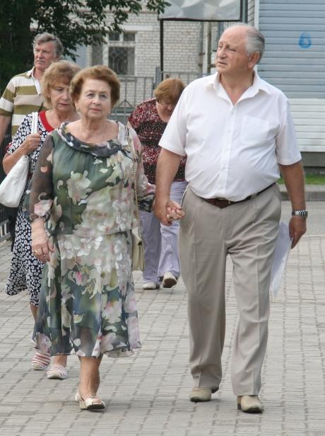 Юрий Шеляпин со своей супругой Ольгой уже 63-й год вместе!