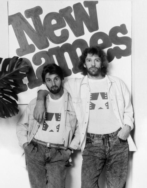 Актёры Леонид Ярмольник (слева) и Александр Абдулов (справа). 01.07.1989 года