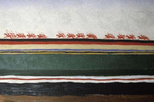 Красная конница . Казимир Малевич