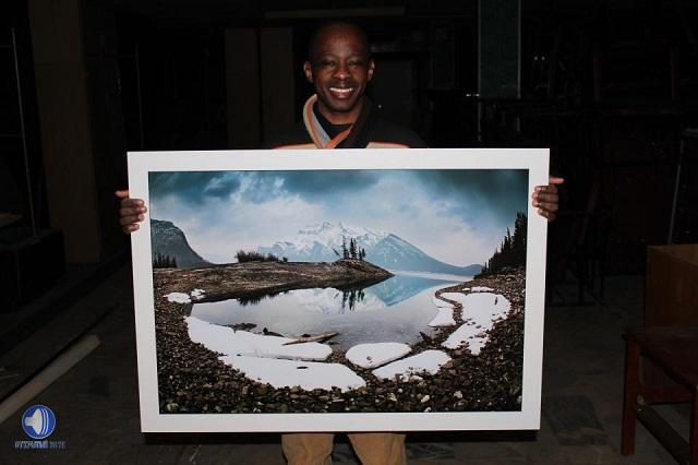 Когда-то Давид видел снег только на картинах.