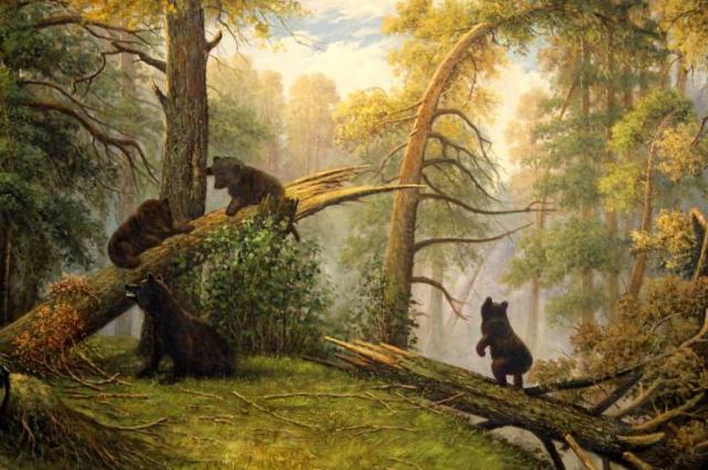 Медведей нарисовал вовсе не Шишкин.