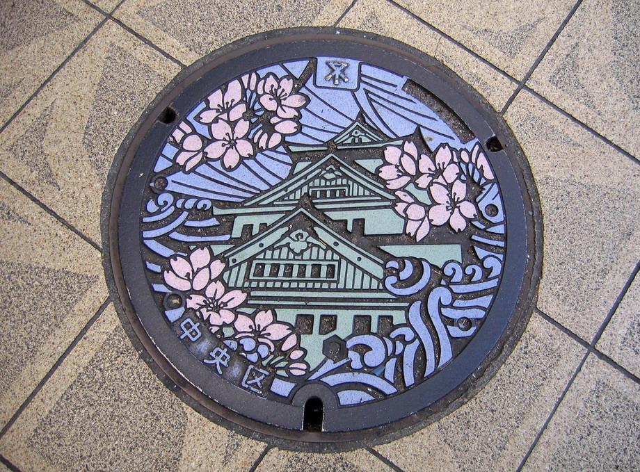 Такие крышки установлены на колодцах в Японии, у нас, возможно, появятся похожие.