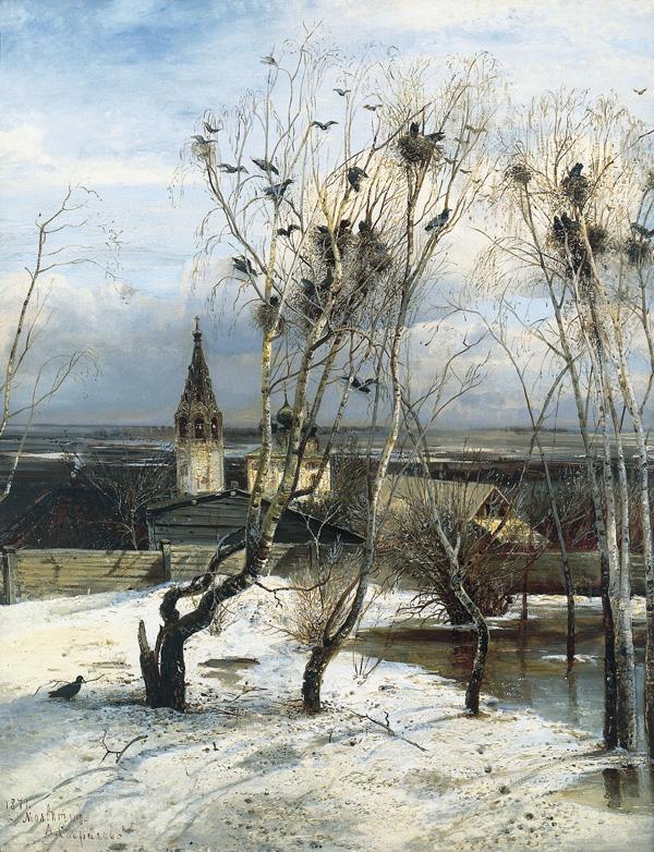 «Грачи прилетели», Алексей Саврасов, 1879 г.