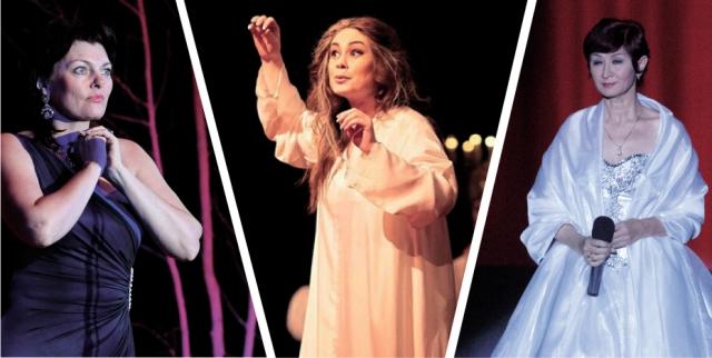 Ольга Сосновская, Оксана Клипка и Альфия Коротаева (слева направо) по разным причинам покинули театр оперы и балета.