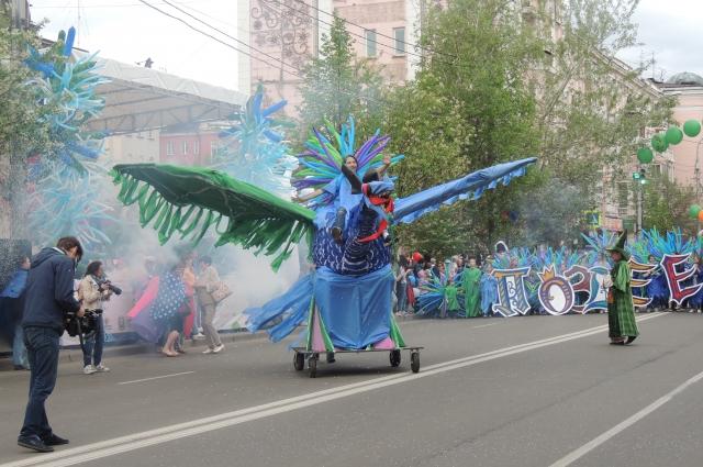 Самая интересная конструкция карнавала.