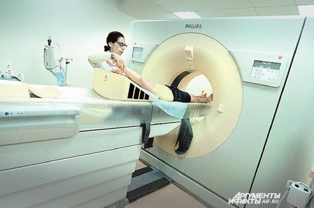 Такие томографы выявляют малейшие нарушения.