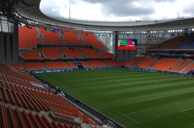 На реконструкцию стадиона к чемпионату мира в Екатеринбурге потратили 12 миллиардов рублей.