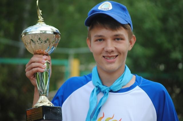 Степан Тюнин - участник лагеря-победителя 2018 года