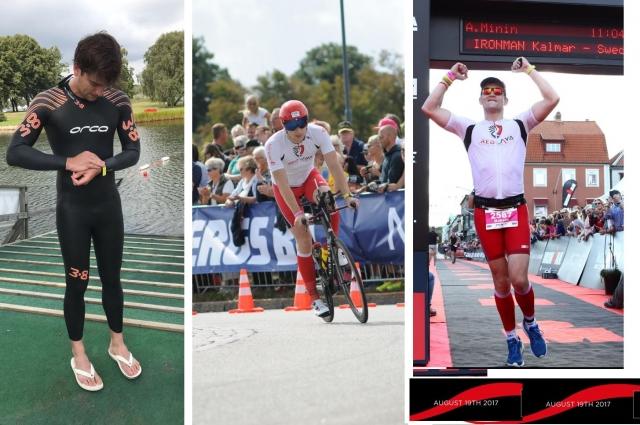 Максим Колесников увлекается триатлоном.
