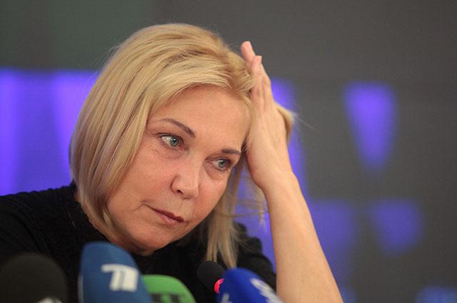 Актриса Наталья Захарова.