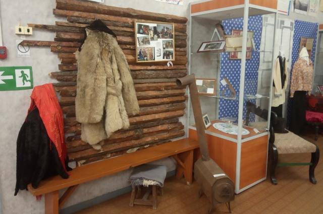 Экспозиция в Называевском историко-краеведческом музее, посвящённая спектаклю