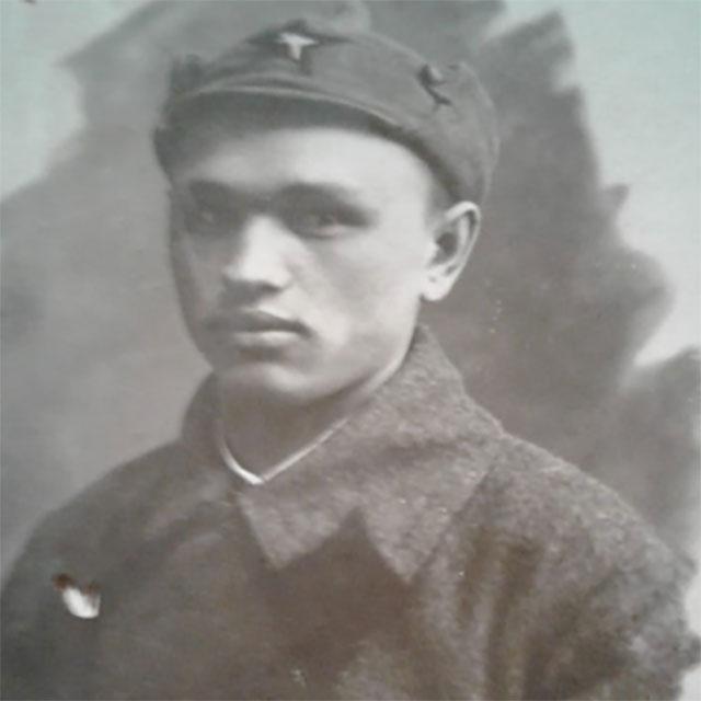 Филимон Черзаров в годы службы.