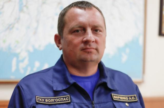 водолаз Алексей Марченко