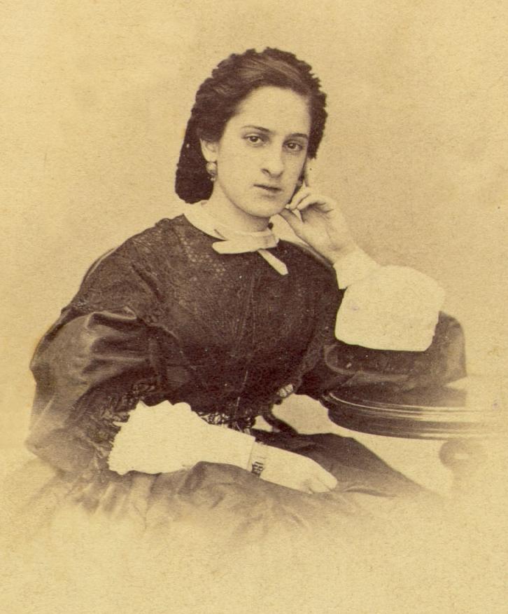 Ольга Боратынская, урожденная Казем-Бек. 1860-е гг