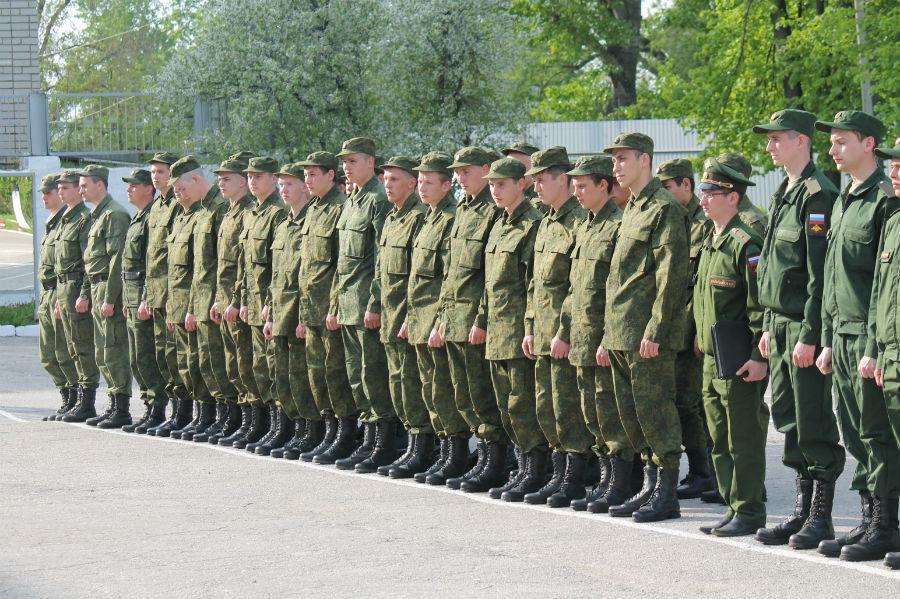 Первые весенние призывники Ульяновской области уже в строю.
