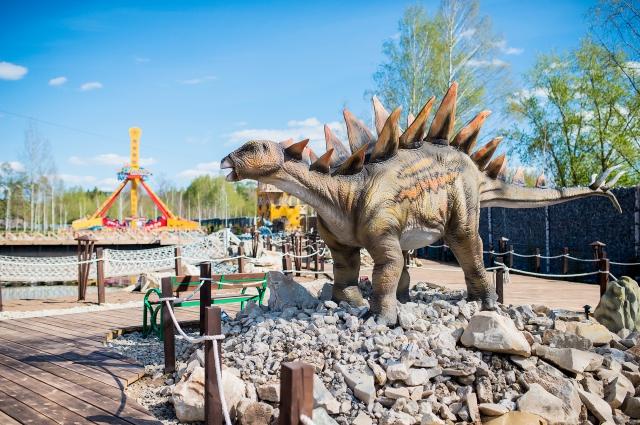 Казанских динозавров, как и кировских, привезут из Китая.