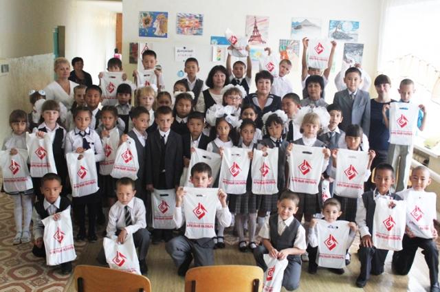 Металлурги оказывают шефскую помощь ученикам Золотаревской школы-интерната